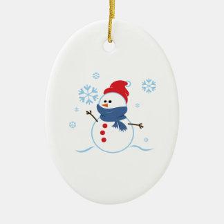 Snow Man 3 Ornament