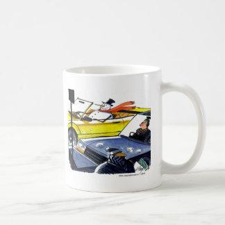 Snow man convertible coffee mug
