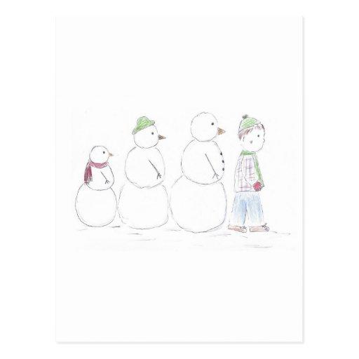 Snow_man_entourage Postal