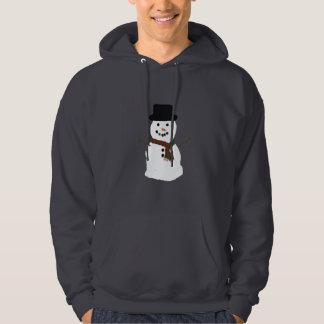 Snow Man Hoodie