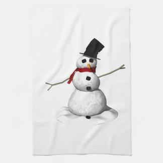Snow Man Kitchen Towel