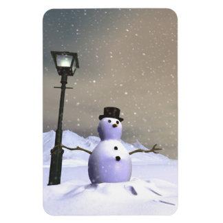Snow Man Premium Flexi Magnet