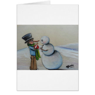 Snow Meany Card