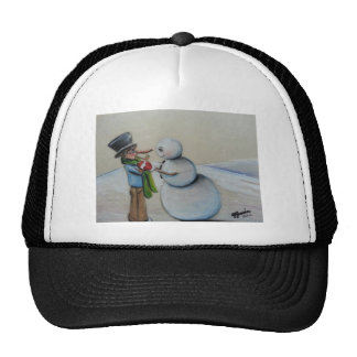 Snow Meany Trucker Hat
