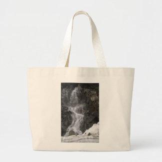 Snow Melt on Mt. Ranier Tote Bag