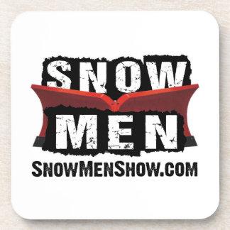 Snow Men Beverage Coaster