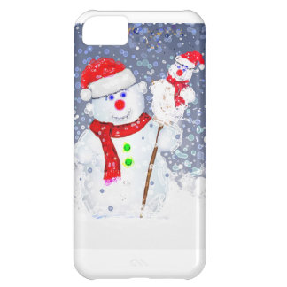 Snow men. cover for iPhone 5C
