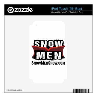 Snow Men iPod Touch 4G Skin