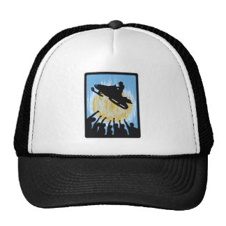 SNOW MOBILE CAUSE TRUCKER HAT