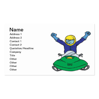 Snow Mobile Champ Business Card