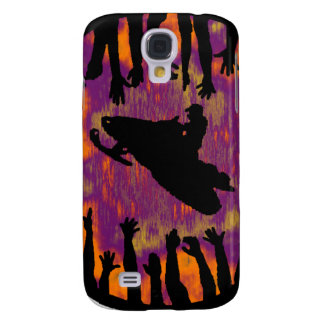 SNOW MOBILE EVENINGS GALAXY S4 CASE