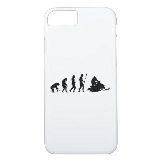 Snow Mobile Evolution iPhone 7 Case