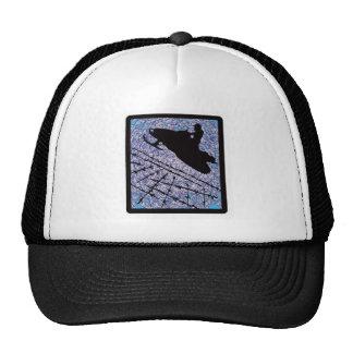 SNOW MOBILE FROSTY TRUCKER HAT