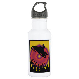 SNOW MOBILE GENERATIONS WATER BOTTLE