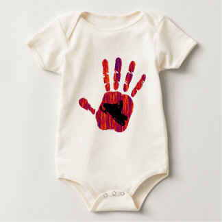 SNOW MOBILE HEAT BABY BODYSUIT