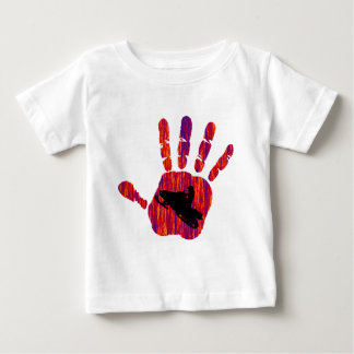 SNOW MOBILE HEAT BABY T-Shirt