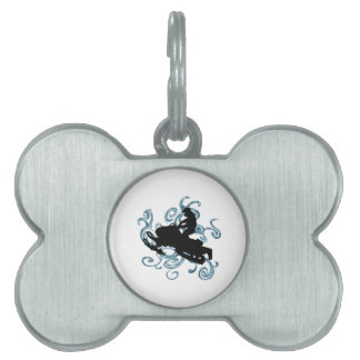 Snow mobile Mania Pet ID Tag