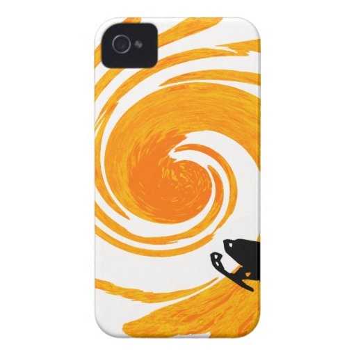 SNOW MOBILE MORNINGS iPhone 4 CASE