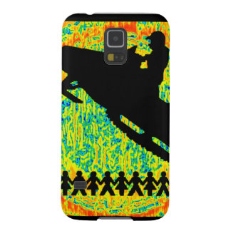 SNOW MOBILE POWERED GALAXY S5 CASE