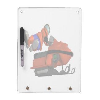 Snow Mobile Skills Dry Erase Boards