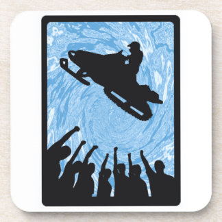 SNOW MOBILE STRATEGIES DRINK COASTER