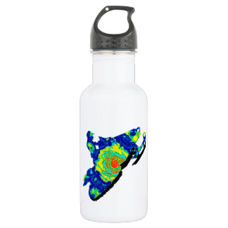 SNOW MOBILE TRACKERS 18OZ WATER BOTTLE