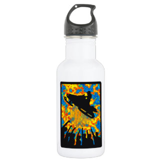 SNOW MOBILE TRANCE WATER BOTTLE