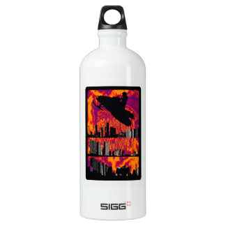 SNOW MOBILE UP ALUMINUM WATER BOTTLE