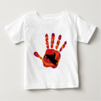 SNOW MOBILE WAY BABY T-Shirt