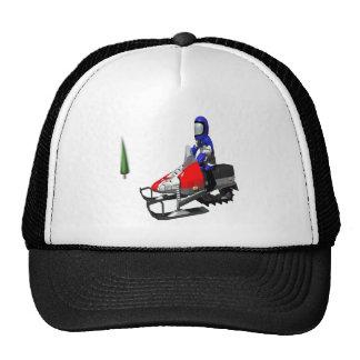 Snow Mobiling Trucker Hat