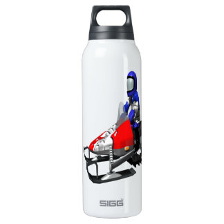 Snow Mobiling Insulated Water Bottle