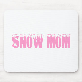 Snow Mom Mousepad