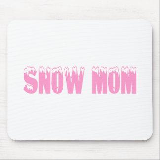 Snow Mom Mouse Pad