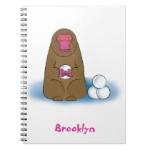 Snow monkey notebook