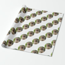 Snow Monkey Wrapping Paper