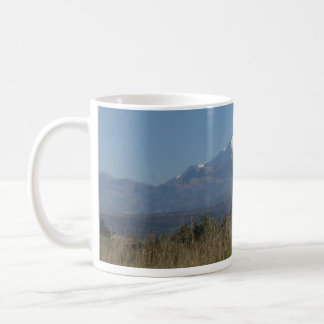 Snow Mountain Scene Coffee Mug