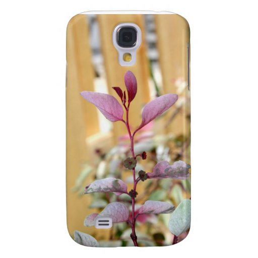 snow moutain plant pink purple against wood.jpg galaxy s4 covers
