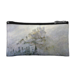 Snow on a Misty Mountain Makeup Bags