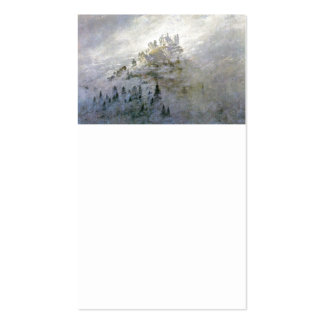 Snow on a Misty Mountain Double-Sided Standard Business Cards (Pack Of 100)