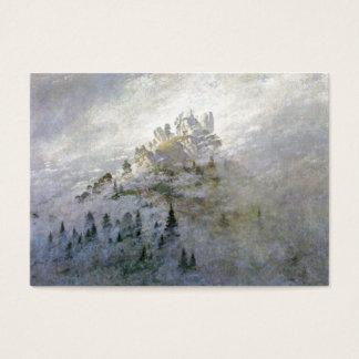 Snow on a Misty Mountain Business Card