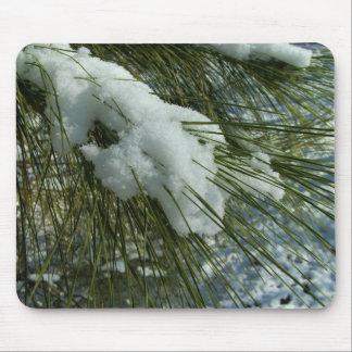 Snow on a Tree Mousepad