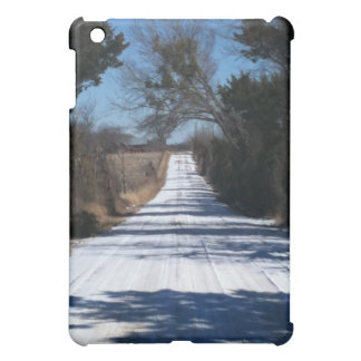 SNOW ON COUNTRY ROAD CASE FOR THE iPad MINI