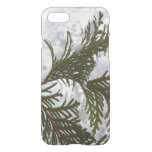 Snow on Evergreen Branches Winter Nature Photo iPhone 8/7 Case