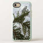 Snow on Evergreen Branches Winter Nature Photo OtterBox Symmetry iPhone 8/7 Case