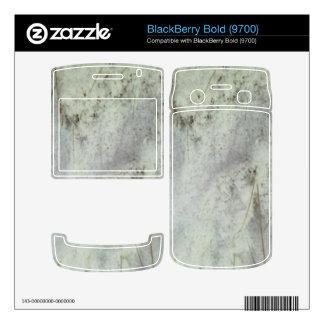 Snow on ground decals for BlackBerry