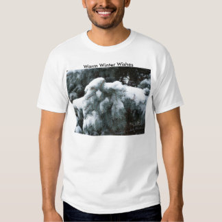 Snow On The Bough, Warm Winter Wishes Shirt
