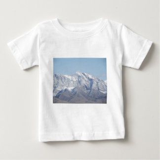 Snow on the Desert Mountains Baby T-Shirt