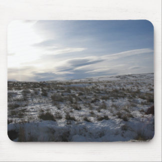 Snow on the Lammermuirs Mouse Pad