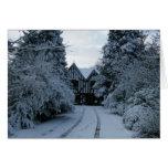 Snow On The Manor House card