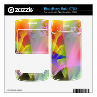 Snow on the Volcano BlackBerry Bold Decal